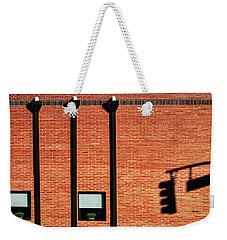 The Traffic Light Intruder Weekender Tote Bag by Gary Slawsky