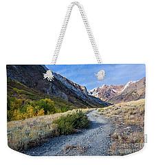 The Trail To Mcgee Creek Weekender Tote Bag