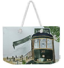 The Tram Cafe Weekender Tote Bag