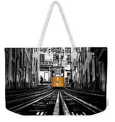 The Tram Weekender Tote Bag