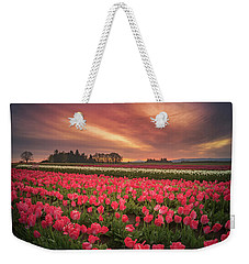 Weekender Tote Bag featuring the photograph The Tranquil Morning Before Sunrise by William Lee