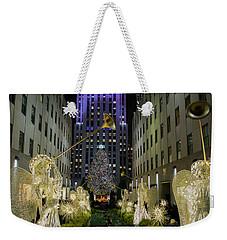 The Tree At Rockefeller Plaza Weekender Tote Bag