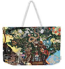 The Tree Weekender Tote Bag by Emily McLaughlin