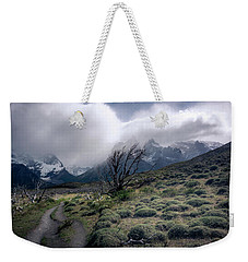 Weekender Tote Bag featuring the photograph The Tree In The Wind by Andrew Matwijec