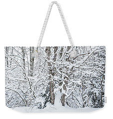 Weekender Tote Bag featuring the photograph The Tree- by JD Mims