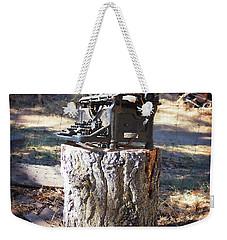 The Tree Killer Weekender Tote Bag by Timothy Bulone