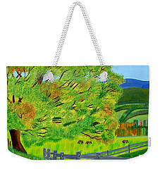The Tree Of Joy Weekender Tote Bag