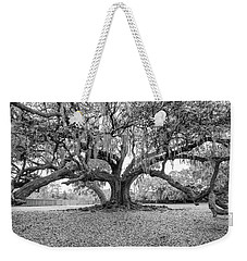 The Tree Of Life Monochrome Weekender Tote Bag