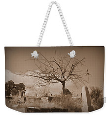 The Tree On Boot Hill  Weekender Tote Bag by Nature Macabre Photography