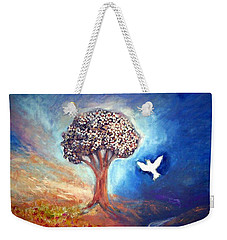 The Tree Weekender Tote Bag by Winsome Gunning