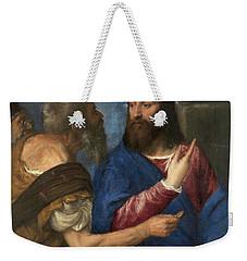 The Tribute Money Weekender Tote Bag