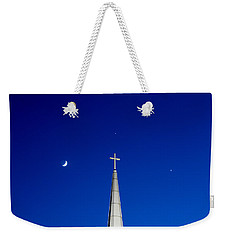 The Trinity Weekender Tote Bag