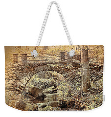 The Troll Bridge Weekender Tote Bag
