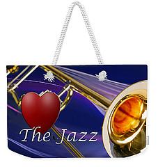 The Trombone Jazz 001 Weekender Tote Bag
