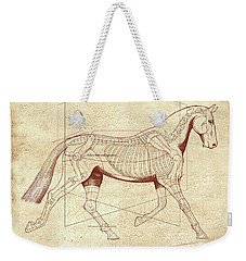 The Trot - The Horse's Trot Revealed Weekender Tote Bag by Catherine Twomey