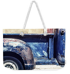 The Truck In Abstract Paint Weekender Tote Bag