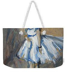 The Truth Lies Between Aguste Renoir And Marlene Dumas Weekender Tote Bag by Nop Briex