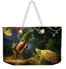 The Turtle Of The Moon Weekender Tote Bag