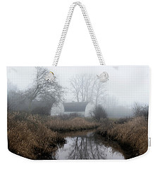 The Twin Barns Of Nisqually Weekender Tote Bag