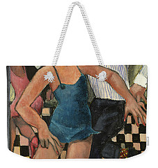 The Twist Weekender Tote Bag
