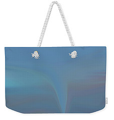 Weekender Tote Bag featuring the painting The Twister by Dan Sproul