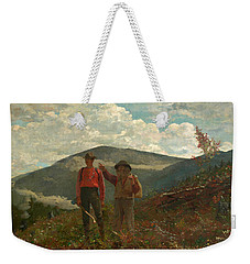 The Two Guides Weekender Tote Bag by Winslow Homer