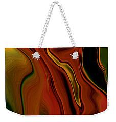 Weekender Tote Bag featuring the digital art The Two by Rabi Khan