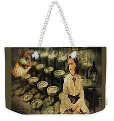 The Typist Weekender Tote Bag