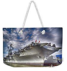 The U S S Intrepid  Weekender Tote Bag