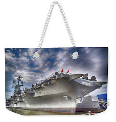 The U S S Intrepid  Weekender Tote Bag