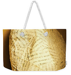The Unfinished Story Weekender Tote Bag