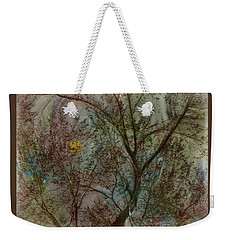 The Universe In A Tree Weekender Tote Bag by Lenore Senior