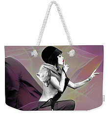 Weekender Tote Bag featuring the mixed media The Unkeepable Secret by Susan Maxwell Schmidt