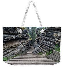 The Unknown Path Weekender Tote Bag by Alpha Wanderlust