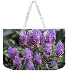 The Upward Trend Of Purple Weekender Tote Bag