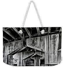 Weekender Tote Bag featuring the photograph The Urban Jungle by Brad Allen Fine Art