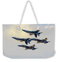 The U.s. Navy Blue Angels Weekender Tote Bag