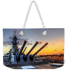 The Uss Missouri's Last Days Weekender Tote Bag