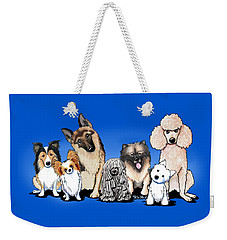 The Usual Suspects 3 Weekender Tote Bag