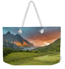 The Valley Of Light Weekender Tote Bag