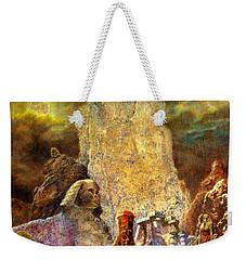 The Valley Of Sphinks Weekender Tote Bag
