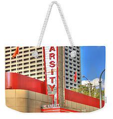 The Varsity Frontdoor Atlanta Georgia Landmark Art Weekender Tote Bag