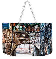 The Vase Arch Weekender Tote Bag