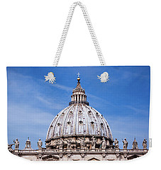 The Vatican Weekender Tote Bag by Nick  Shirghio