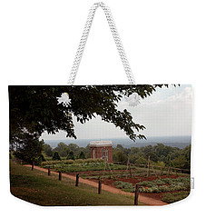The Vegetable Garden At Monticello Weekender Tote Bag