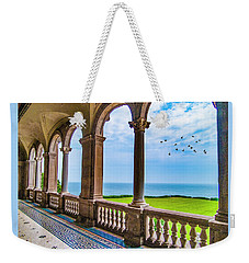 Weekender Tote Bag featuring the photograph The Veranda by Paul Wear