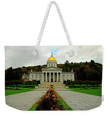 The Vermont State Capital Building Weekender Tote Bag