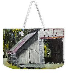 The Verona Barn Weekender Tote Bag by Jim Phillips