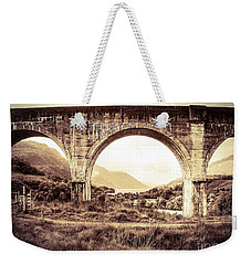 The Viaduct And The Loch Weekender Tote Bag