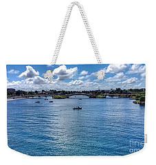 The Victorian Bridge Weekender Tote Bag